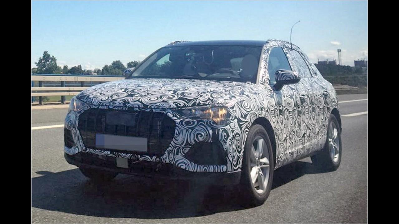 Erlkönig erwischt: Audi Q3 (2018)