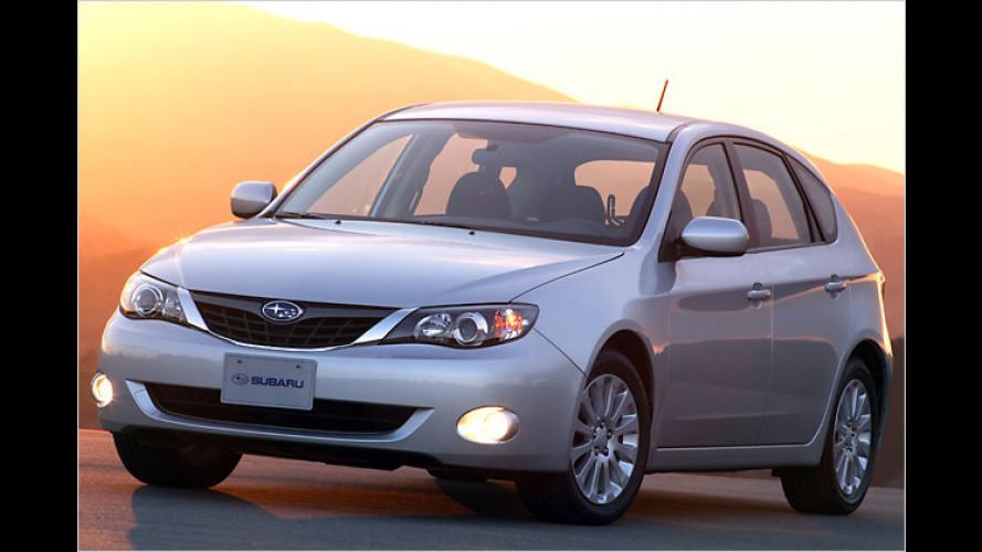 Subaru präsentiert dritte Impreza-Generation in New York
