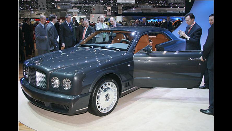 Bentley Brooklands: Edel-Brite versprüht Charme in Genf