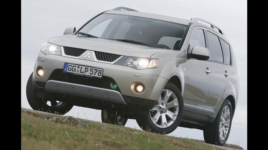 Mitsubishi Outlander: Jetzt mehr Motoren zur Auswahl