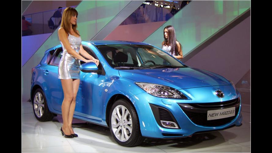 Mazda 3: Weltpremiere für das Fließheck in Bologna