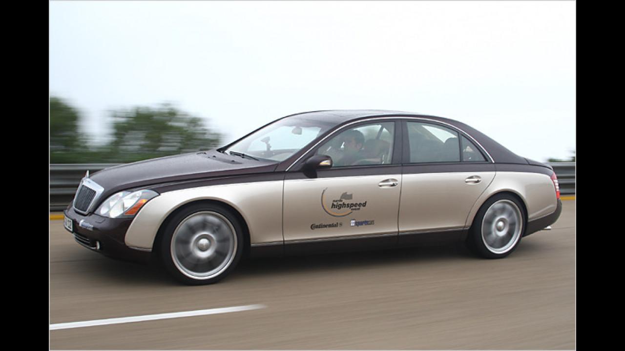 2007: Der schnellste Maybach der Welt