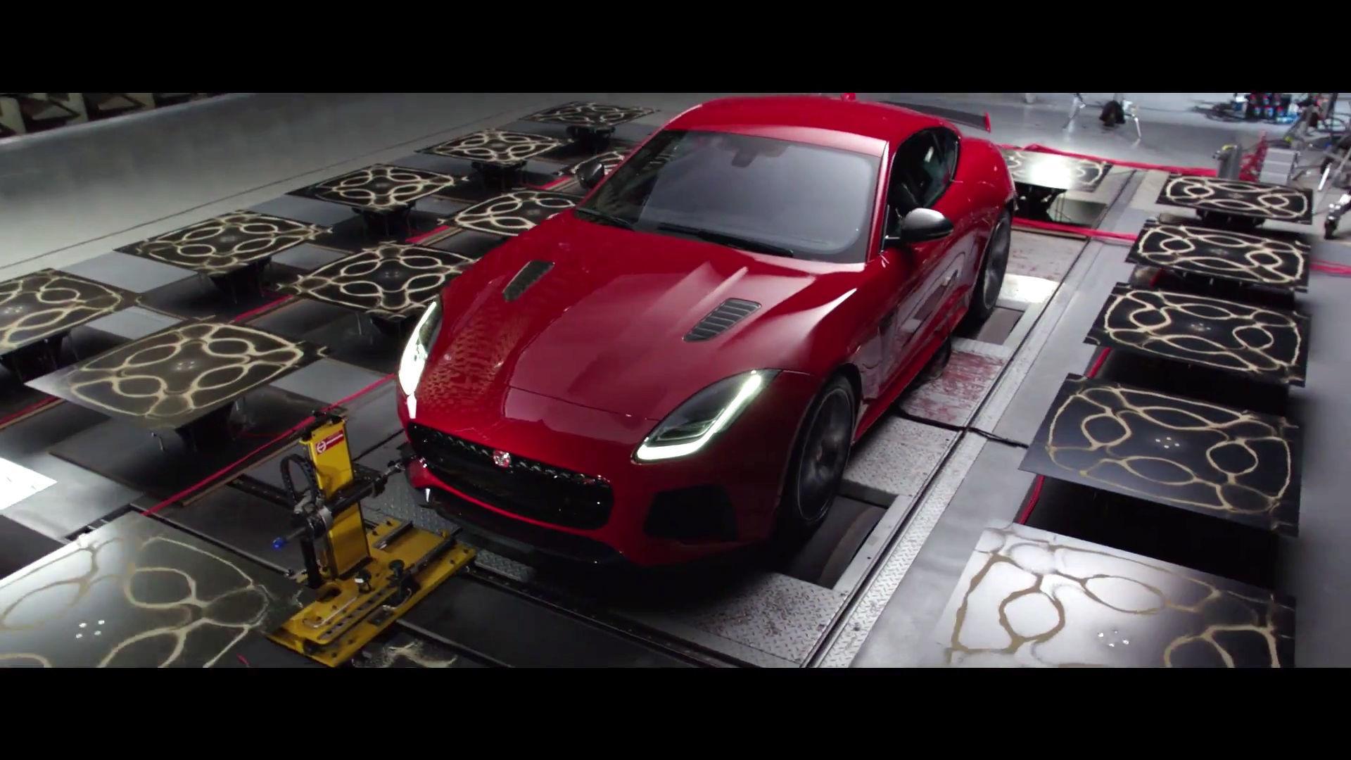 Jaguar F Type Svr Exhaust Note Art