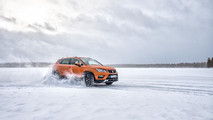 Juha Kankkunen driving the Seat Ateca