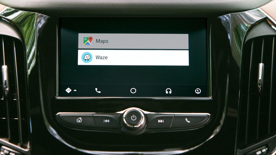 waze est d sormais compatible avec android auto. Black Bedroom Furniture Sets. Home Design Ideas