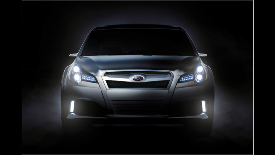 Subaru zeigt in Detroit eine Studie des Legacy-Nachfolgers