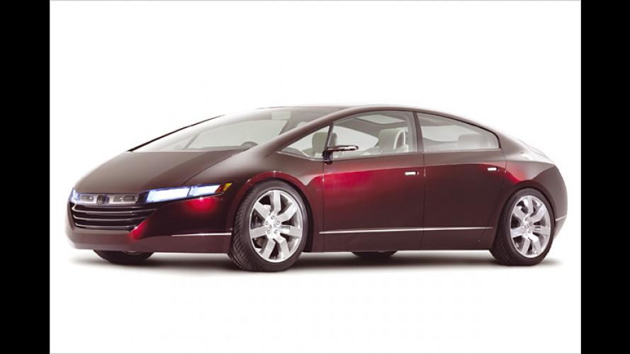 Honda FCX: Wasserstofffahrzeug mit eigener Tankstelle