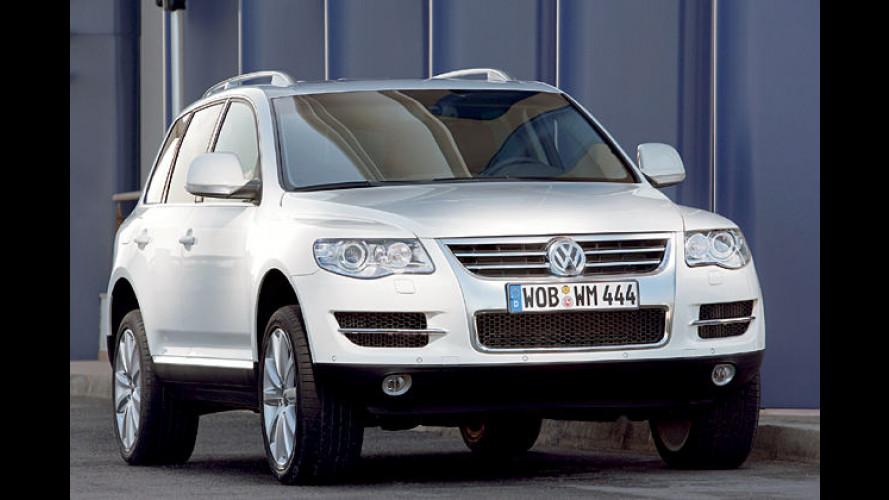 VW Touareg BlueTDI: SCR-Kat für 90 Prozent weniger NOx
