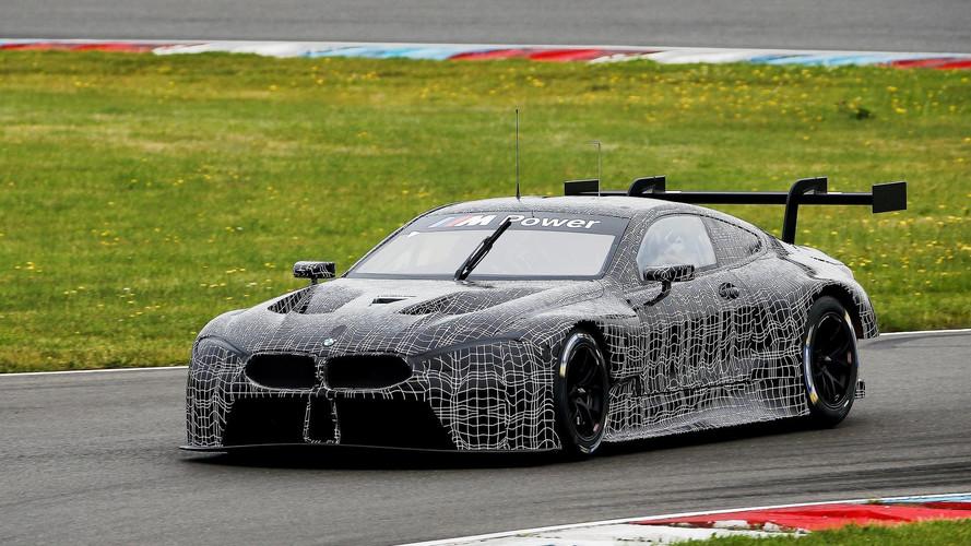 BMW M8 GTE Teszt