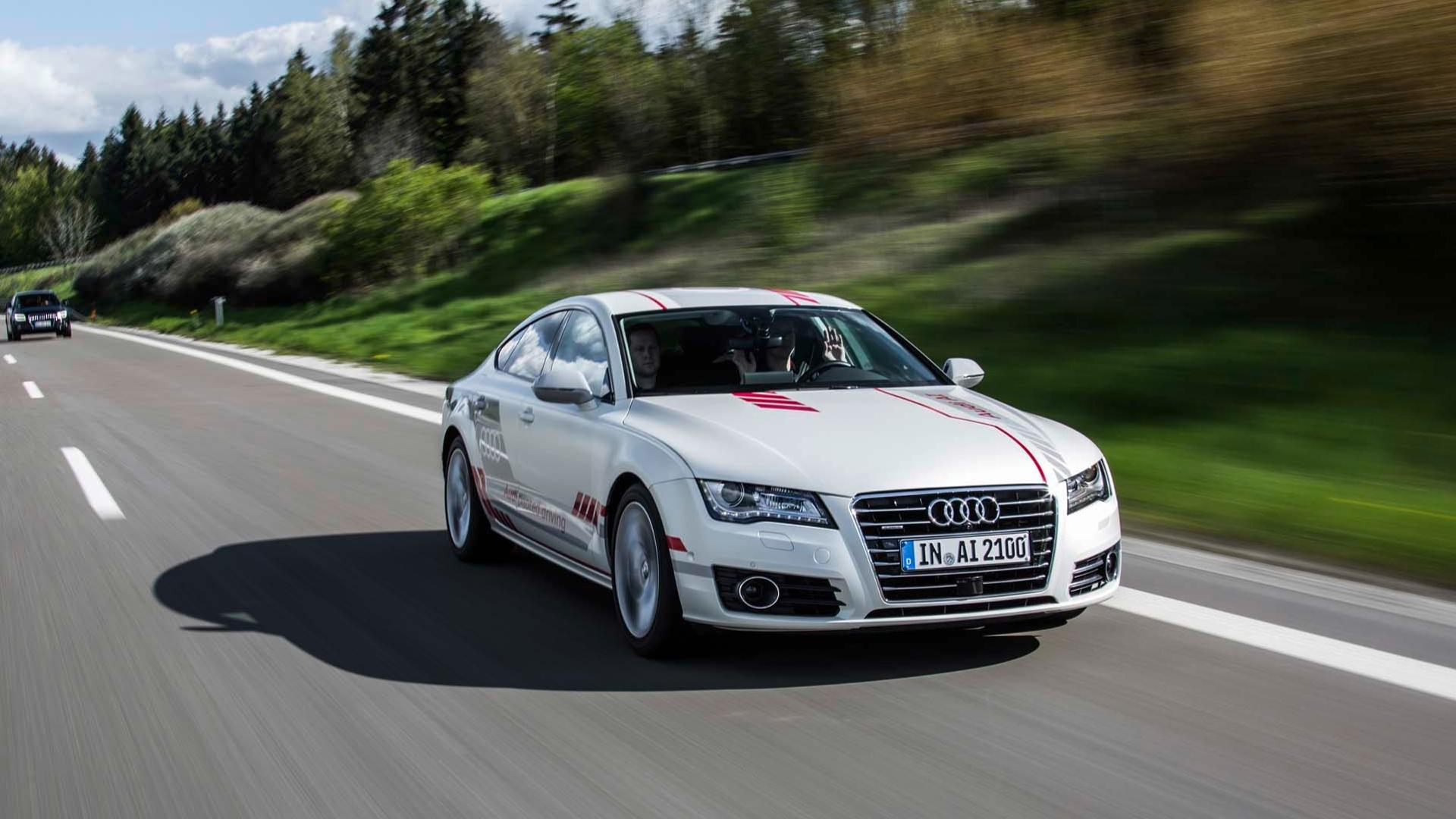 Audi Piloted Driving >> Audi A7 Piloted Drive Concept Demos Offered To Public In Germany
