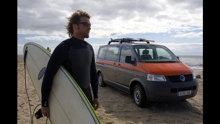 Hang Loose: Mit neuem VW vom Büro an den Strand