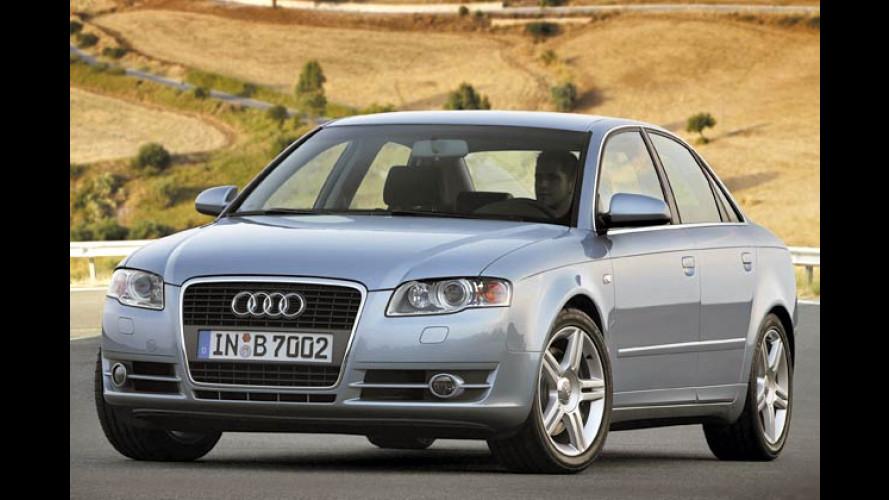 Mit Familien-Nase: Audi bringt neue Generation der A4-Reihe