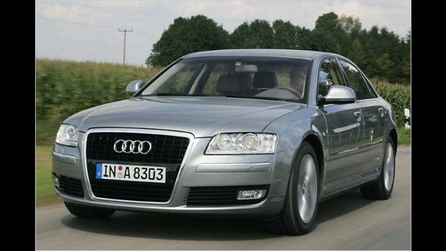 Audi A8 2.8 FSI (2007) im Test: 210 PS für die Ingolstädter Oberklasse