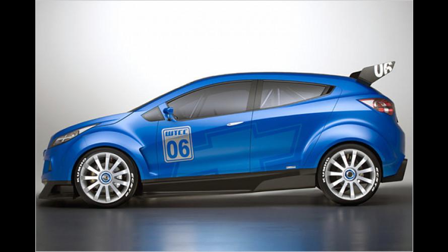Chevrolet WTCC Ultra: Aufregende Rennwagen-Studie