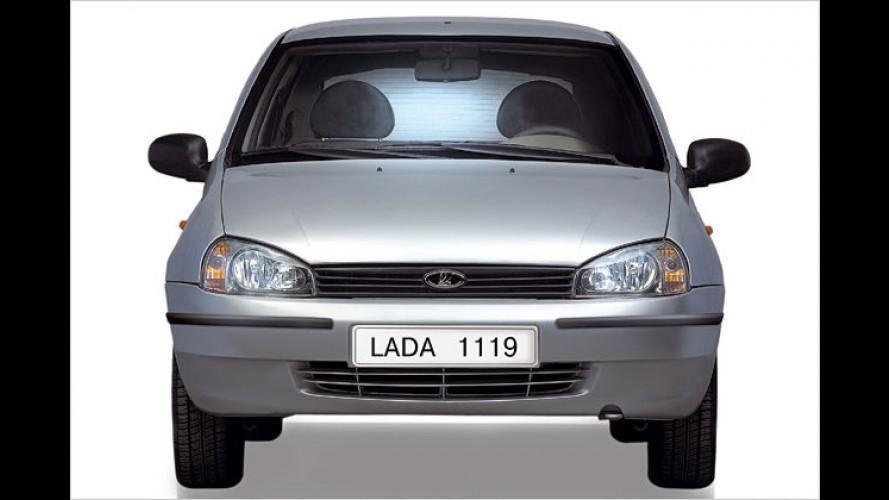 Lada: Geld sparen mit den Winter-Sondermodellen