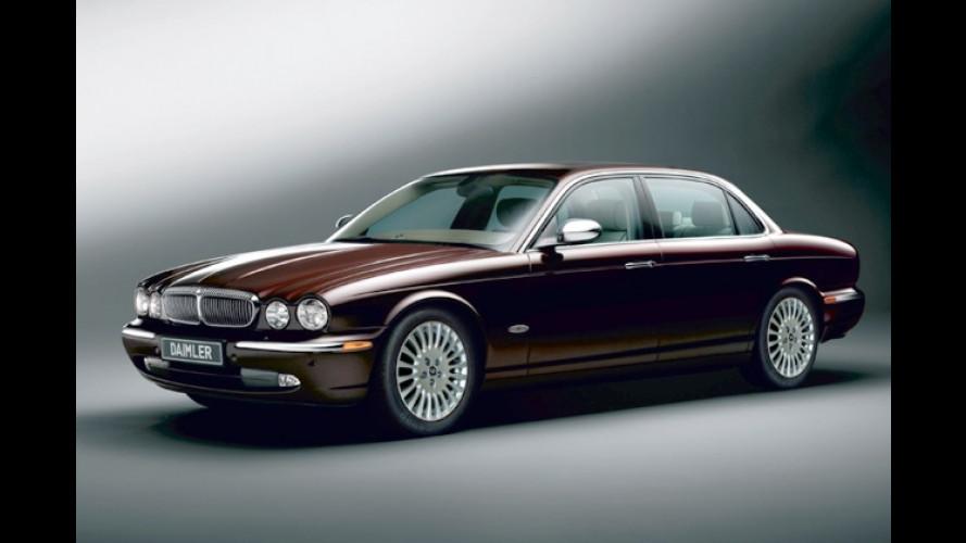 Daimler Super Eight: Luxus-XJR unter neuem Markennamen
