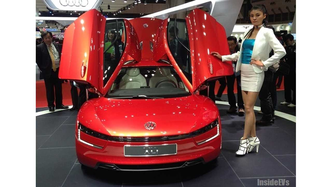 2013 Tokyo Motor Show Opens - InsideEVs Is There With All The Pictures You Can Stand