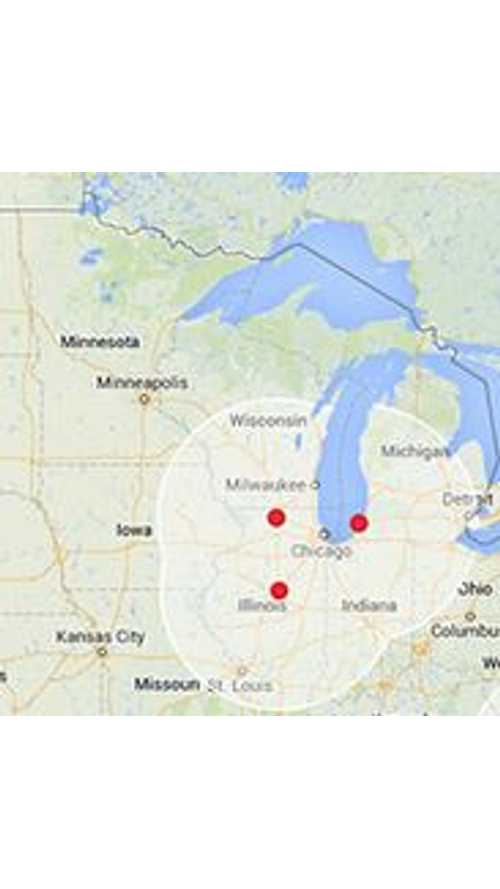 Michigan Gets Its First Tesla Supercharger - Location: Saint Joseph, Michigan