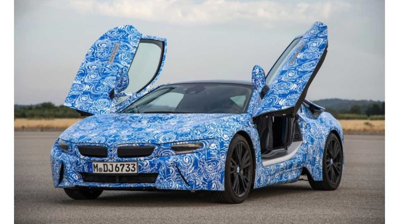 BMW i8 Confirmed to be Quicker Than M3: BMW Leaks Out More Details and Images (w/HD video)