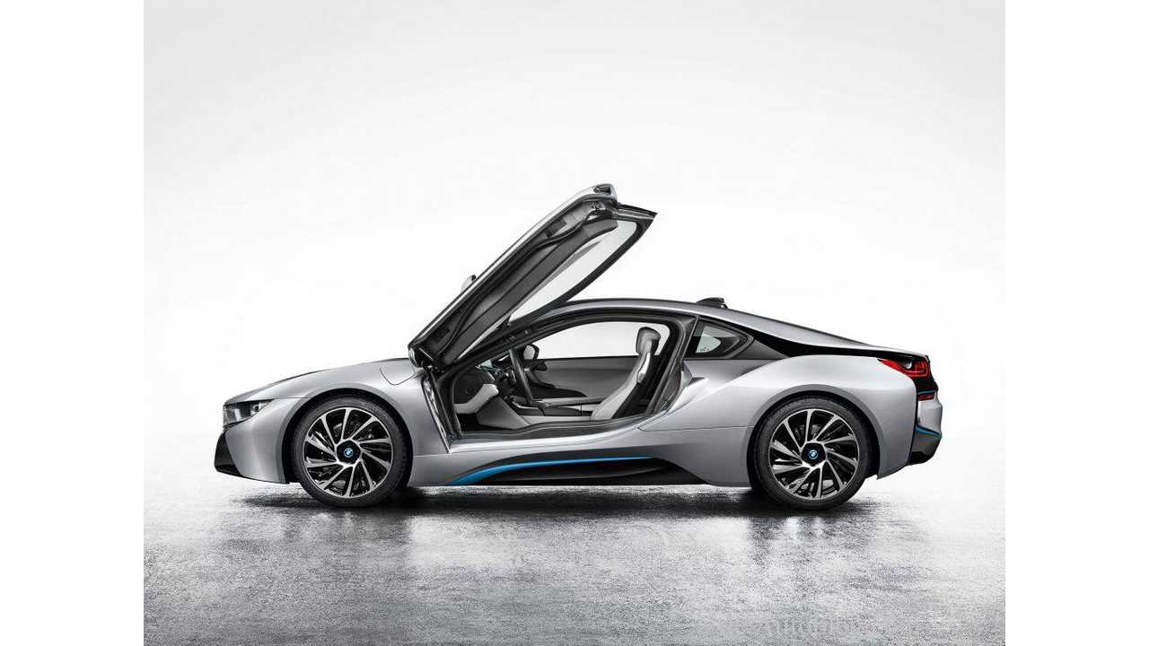 Official Images of Production BMW i8 Leak Out Ahead of Debut