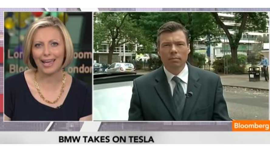 Video: Bloomberg Says BMW i3 Will Compete With Tesla Model S