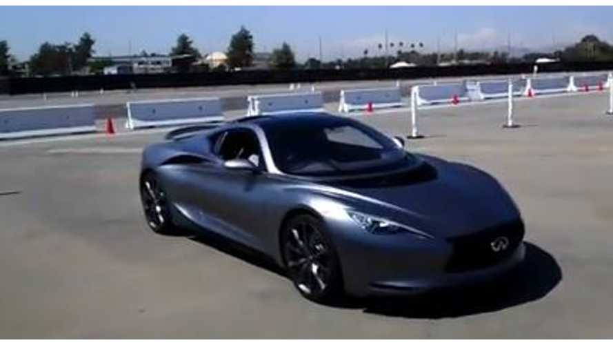 Video: Infiniti Emerg-E Quick Spin