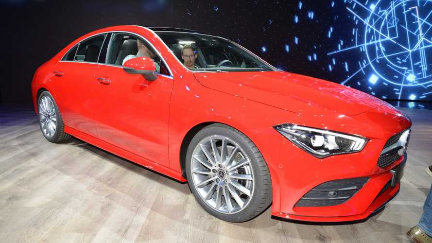 2020 Mercedes CLA Detailed In Live Shots, Official Videos