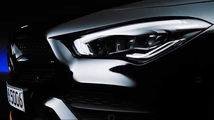 Mercedes CLA 2019 Edition 1 Teaser