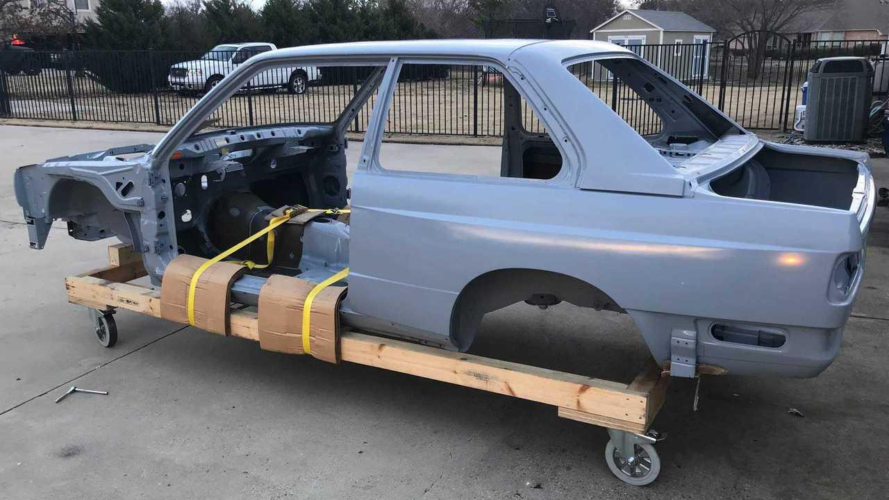 BMW E30 M3 Shell Side