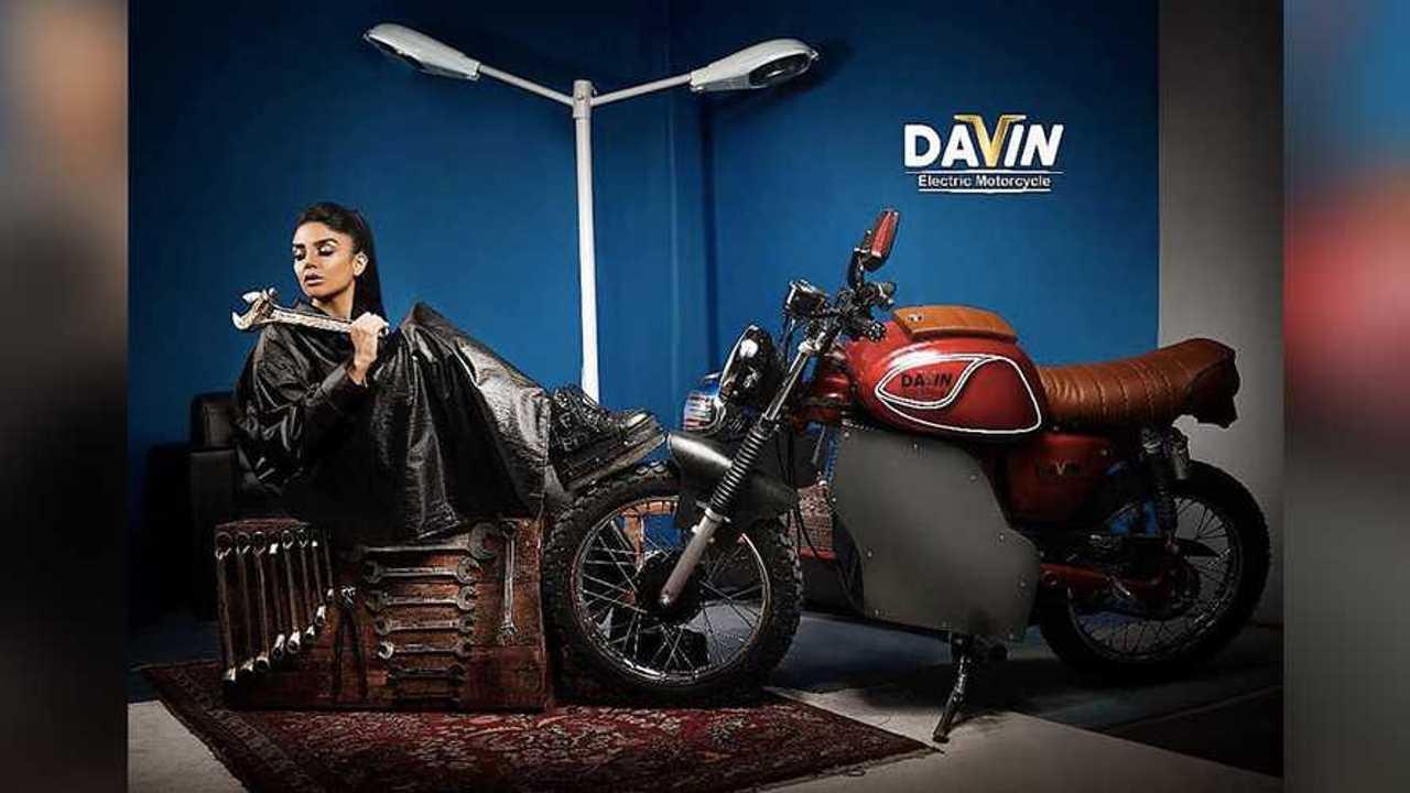 Davin Electric Motorcycle Yamaha YG-1T