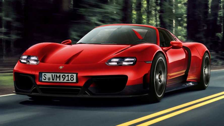 Tisztán elektromos hajtásláncot kaphat a Porsche 918 Spyder utódja