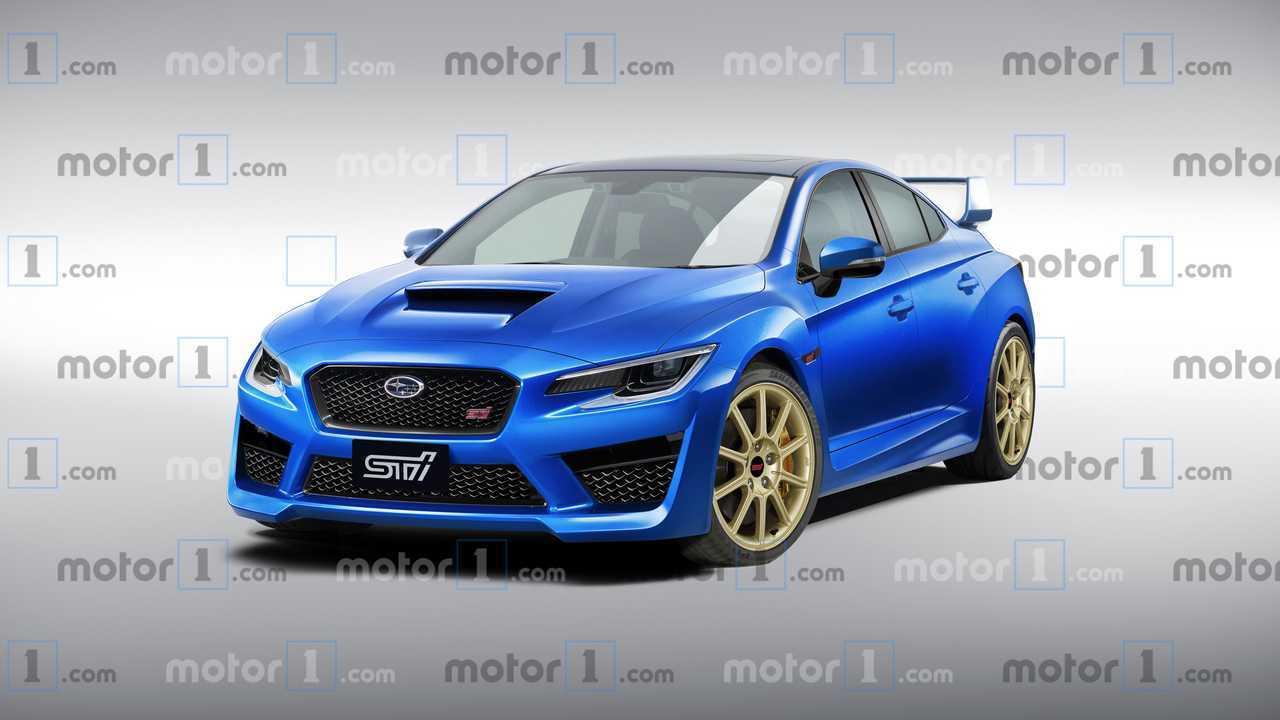 2020 Subaru WRX STi Render