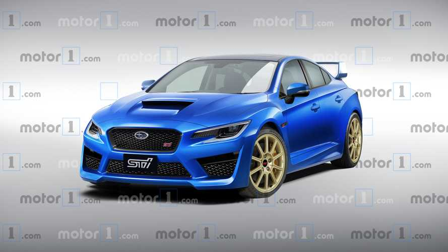 Illustration - Subaru WRX STi (2020)