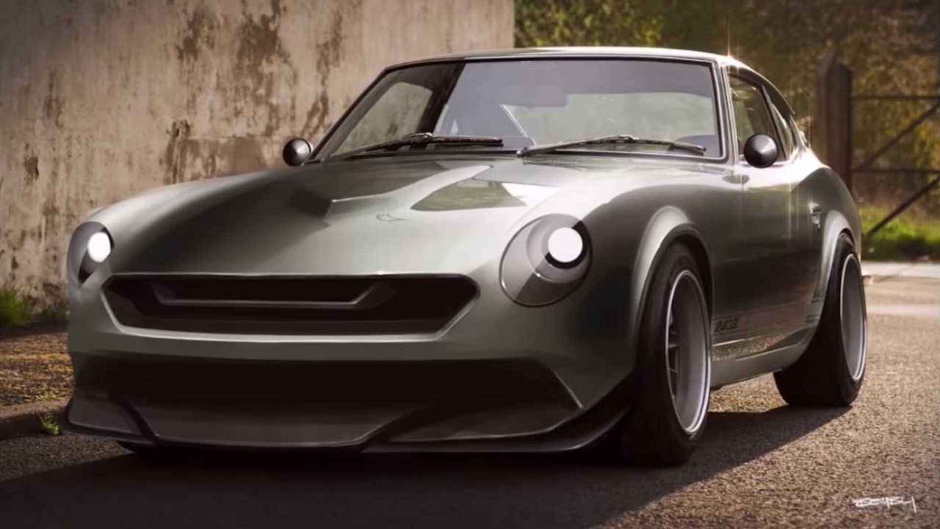 For The Love Of The Z: Watch Datsun 240Z Get Modernized Design