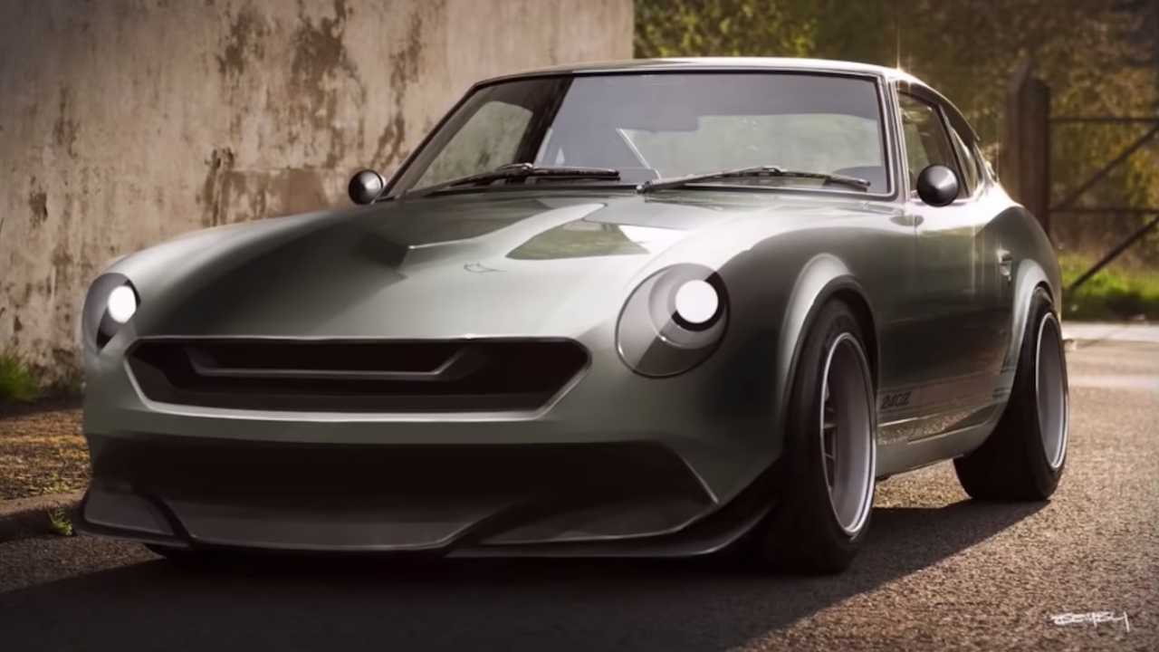 For The Love Of The Z  Watch Datsun 240z Get Modernized Design