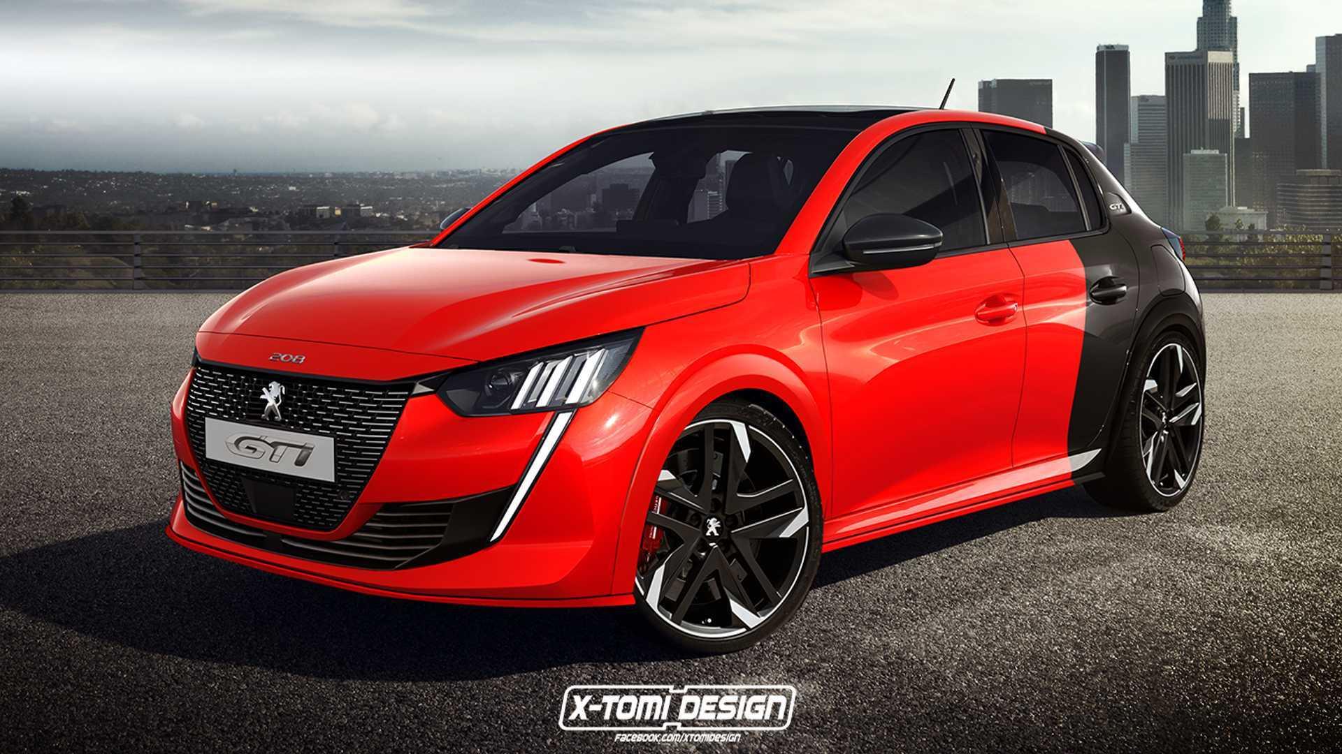 Novo Peugeot 208 GTi terá motor 1.6 turbo de 225 cv Peugeot-208-gti-2020