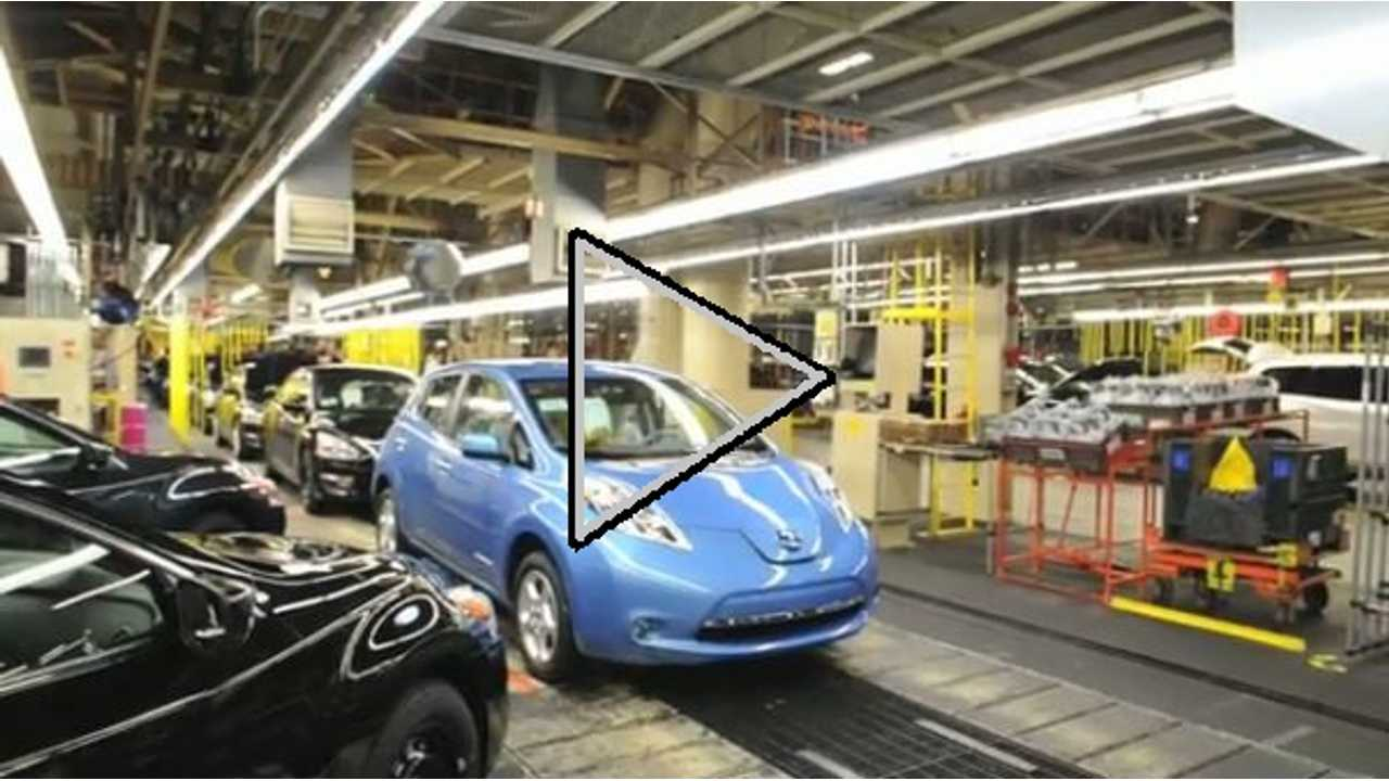 Video: Time-Lapse Making of 2013 Nissan LEAF in Tennessee