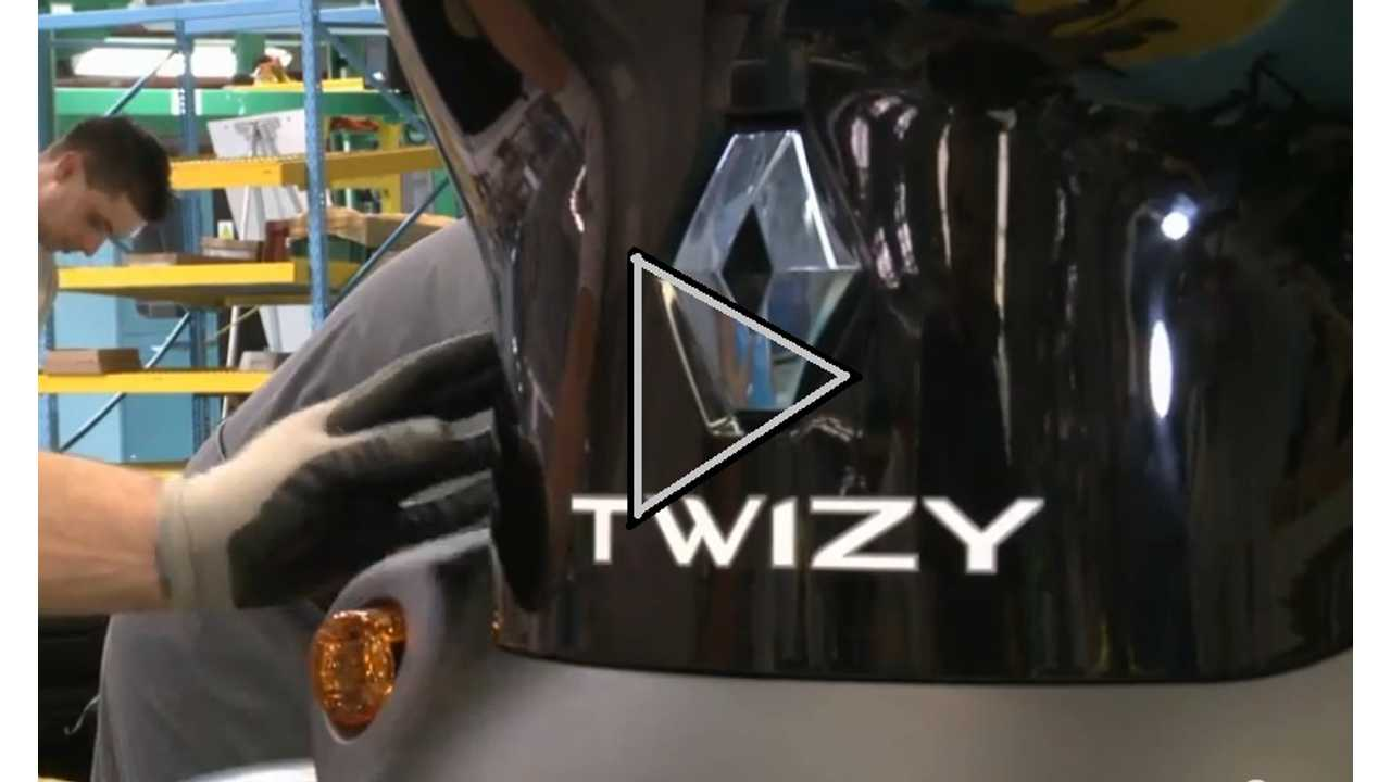 Renault Twizy Factory Video:  No Robots, Higher Wages, And Maybe The Only EV That Turns A Profit