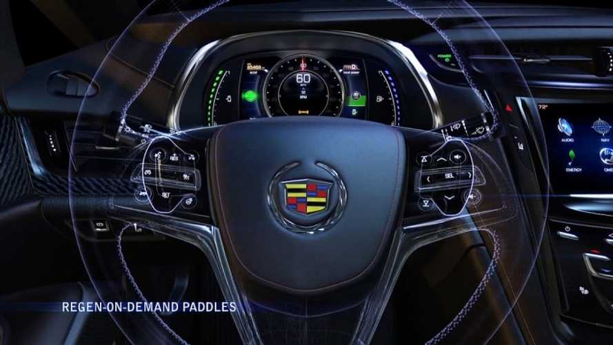 "Cadillac ELR Coming with Paddle-Shifter-Operated ""Regen on Demand"" (Video)"