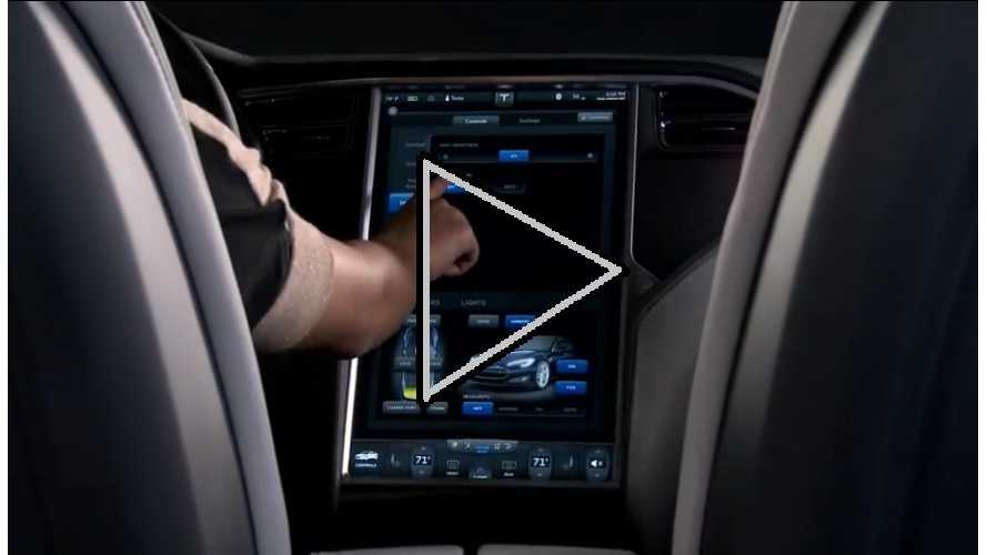 "Video:  Tesla Gives Us The Walk-Thru Treatment On Their Cutting Edge, 17"" Touchscreen"