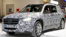 2020 Mercedes GLB spy photo