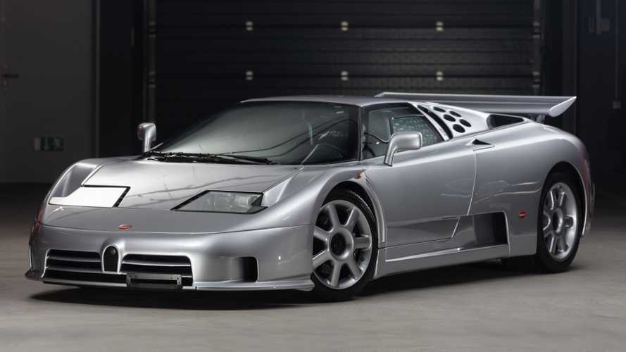 This rare Bugatti EB110 Super Sport has covered just 560 miles