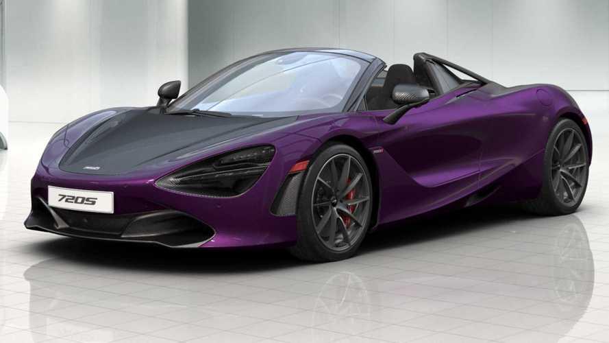 McLaren 720S Spider Configurator Is A Carbon Fiber Bonanza