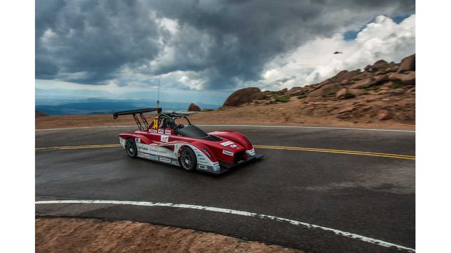 Rain Took Away a Podium Finish for EVs in 2013 Pikes Peak International Hill Climb (w/videos)