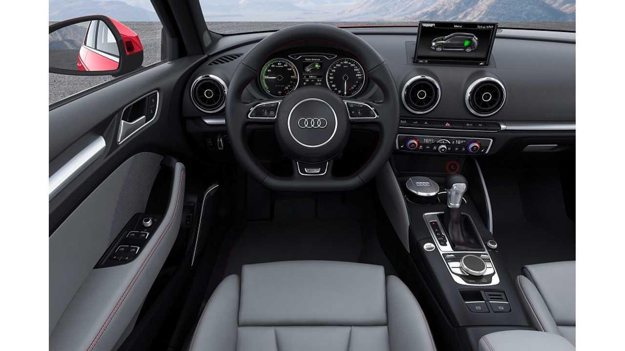 Audi A3 e-tron Interior