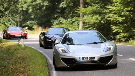 Test McLaren 12C vs. 650S vs. 720S: Let's Mac History
