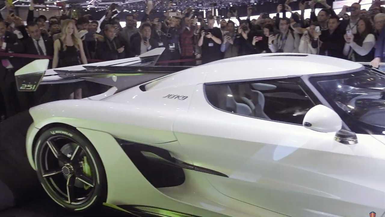 Koenigsegg Jesko: Geneva Live