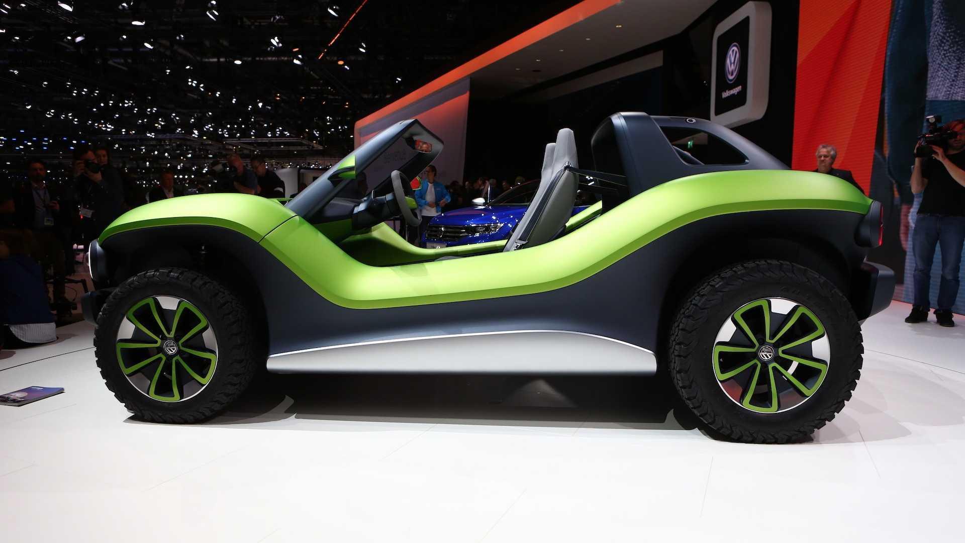 VW revela o novo I.D. Buggy elétrico com 204 cv de potência