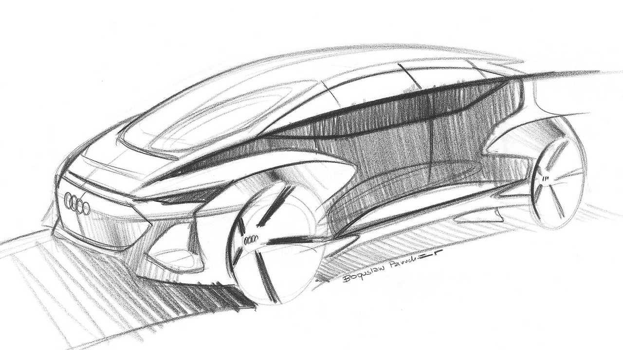Audi AI:me concept, i disegni ufficiali