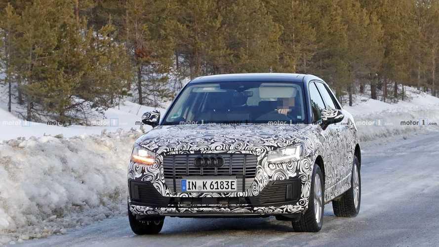 Audi Q2 L E-Tron Spy Photos